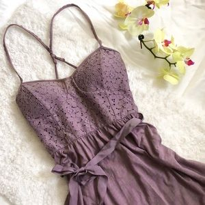 American Eagle Outfitters Dress Purple Size Small